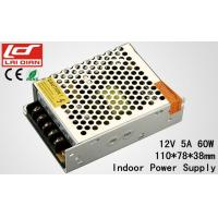 Aluminum Shell LED Lighting Power Supply Rated Voltage 12V 5A Low Power Circuits