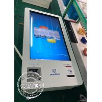 Wholesale Korea Market 32 Inch Infrared Touch LCD Self Service Kiosk Windows Cash Receiver Payment Kiosk from china suppliers