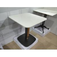 China Professional Mild Steel Restaurant Bar Table Bases Square Metal Table Base 28'' Height on sale