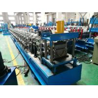 Wholesale Hydraulic Cutting Gutter Roll Forming Machine , 7.5KW Half Round Gutter Machine from china suppliers