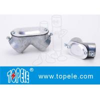 Buy cheap 90 Degree Emt Conduit Fittings Zinc Die Cast EMT To EMT Pull Elbow from wholesalers