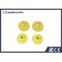 China PET RFID Animal Ear Tag 134.2 KHz ISO 11785 EM4305 Ultra High Frequency on sale