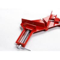 China 76mm 90 Degree Corner Clamp Aluminium Alloy For Splicing / Doweling on sale