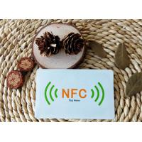 Wholesale Customized smart NFC tag / sticker Ntag203 13.56MHz ISO/IEC 14443A Air Interface Protocol from china suppliers