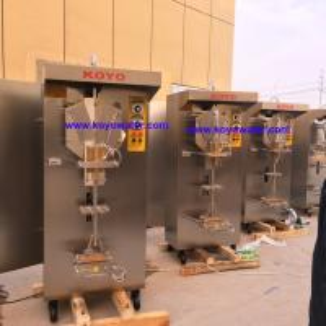 Wholesale Koyo Brand high efficient sachet water packing machine/water bagging machine/pouch liquid filling machine from china suppliers