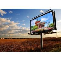 Wholesale P5 Outdoor Full Color LED Display Screen Wide Viewing Angle Fixed Installation LED Advertising Billboard from china suppliers