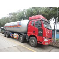 Wholesale FAW 8*4 35.5 CBM LPG tank truck for delivery dimethylmethanefor sale, hot sale best price FAW brand proapne gas truck from china suppliers