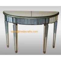 China China supplier venetian mirrored furniture console table/end table on sale
