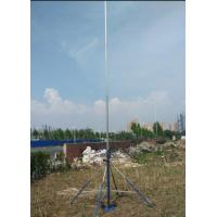 endzone camera system with self power supply battery  LCD screen display 9m high  hard 6063 2mm thickness tube
