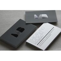 Wholesale Custom Design Black Paper Business Card Offset Printing Free Samples from china suppliers