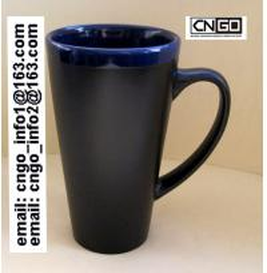 Wholesale Glazed/Porcelain fashion big Chalk Mug wholesale16oz Ceramic Chalk Mugs china chalk mug from china suppliers