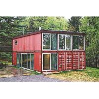 Buy cheap Customized Movable Container Modular Flat Pack Prefab House Plywood + Pvc Floor from wholesalers