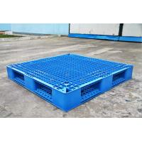 Buy cheap Rackable Plastic Shipping Pallets For Storage / Distribution , Blue Plastic Pallet Recycling from Wholesalers
