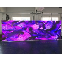 Wholesale Stage LED Screens  rental P3.91 / P4.81  500 cabinet Color LED Display Panel High Refresh Rate 3840hz With Curvature from china suppliers