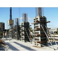 China High Standard Rectangle / Square Concrete Column Formwork ISO9001 Approved on sale