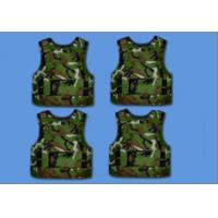 Camouflage Aramid Vest / Bullet Proof Vest For Personal Protection Purpose for sale