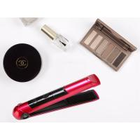 Buy cheap Pink Beauty Hair Tools Rechargeable Hair Straighteners 2400mah Battery Capacity from wholesalers