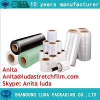 Wholesale Good quality self-adhesive stretch film packaging film stretch film production from china suppliers