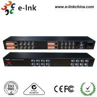 Wholesale 16 Channel Active UTP Video Balun , 19 '' 1U UTP Video Transceiver from china suppliers