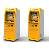China Self Service Banking Interactive ATM Machine With Information Access Cash Dispenser on sale