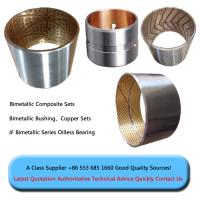 bimetal bushing steel+copper bushing sleeve flange bushing bimetal bush china factory good quality comeptitve price