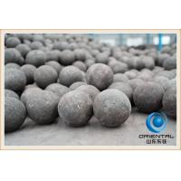 Wholesale Industrial Mineral Processing SAG mill iron grinding balls diameter 100mm Black from china suppliers