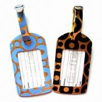 Wholesale Plastic Luggage Tags with Personal Decorations and Nominal Quotation from china suppliers