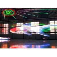 Wholesale Clear Media SMD2727 P31.25 Facade Glass LED Wall 160W/sqm from china suppliers