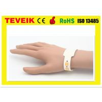 Wholesale High End Wrist Identify Medical ID Bands , Medical Barcode For Mother / Kids / Patient from china suppliers