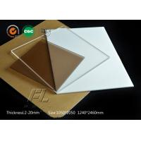 Clear ESD Polycarbonate Sheet With The Change Of Visual Fog Not Obvious