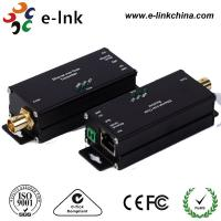 Wholesale Mini 1 Channel IP Ethernet Over Coax Cable Extender Converter RJ45 / BNC Connector from china suppliers