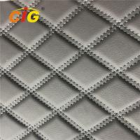 China Embroidery PVC Leather with Foam Laminated by Rolls for Car Seat for Car Floor on sale