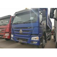 Wholesale 10 Wheels Blue HOWO Heavy Dump Truck, 336HP Tipper Truck 315/80R22.5 Tire from china suppliers