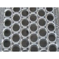 Wholesale Anti - Skidding Decorative Sheet Metal Panels Perforated Metal Stair Treads round hole planks PERF-O-GRIP from china suppliers