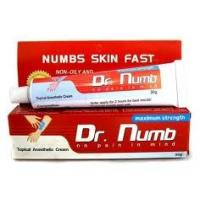 Wholesale Dr.Numb Pain Relief Topical Pain Tattoo Anesthetic Cream from china suppliers