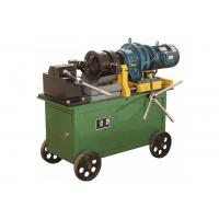 Wholesale Max 40 Mm Portable Rebar Threading Machine With Wheels Heavy Duty from china suppliers