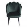 Buy cheap W49cm D 47cm H82cm Nordic Velvet Modern Dining Chair from wholesalers