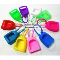 Wholesale 2017 wholesale silicon cover for hand gel,hand sanitizer silicone holder from china suppliers