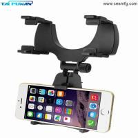 Wholesale Car Mount Holder Car Rearview Mirror Mount Truck Auto Bracket Holder Cradle for iPhone X 8 8 plus Samsung GPS PDA MP3 MP from china suppliers