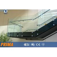 Wholesale High quality Framless Clear Glass Railing for Outdoor Balconies from china suppliers