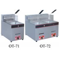 China 5.5L-16L Restaurant Cooking Equipment , Energy Saving Commercial Gas Fryers on sale