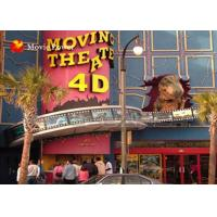 Large Screen Fog Smell Fire 4-D Movie Theater Simulation For Theme Park