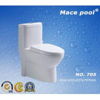 Wholesale Hot Sale Sanitary Wares Siphonic One Piece Water Closet Toilet Bowl (705) from china suppliers