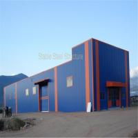 Wholesale Prefabricated Steel Structure Hangar Building for Sale with large space from china suppliers