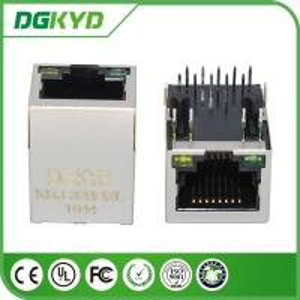 1000 BASE gigabit ethernet connector RJ45 with isolation transformer Moudles for Internet Camera