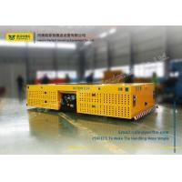 Quality Cargo Carriage Heavy Die Transfer Cart / Battery Powered Cart No Rail Multidirectional for sale