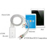 Wholesale Standard 12 Channel Ipad Ecg Monitor Wireless Ecg Machine With 2 AA Batteries from china suppliers