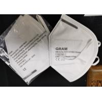 China CE FDA Approved White Non-woven Fabric Anti Virus Disposable KN95 Mask on sale