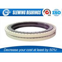 Wholesale Engineering Tower Crane Ball Bearing Slewing Ring With Internal Gear from china suppliers