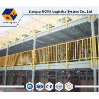 Buy cheap Q235B Durable Steel Multi Tier Racking System Multilayer Shelf Racks from wholesalers